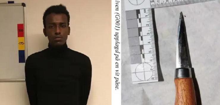 Švédsko: Somálec pobodal na ulici muže jen proto, že mu nedal cigaretu
