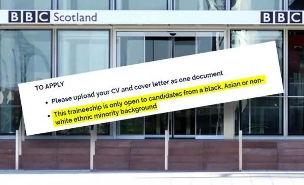 Rasisté v BBC – běloši nejsou vítáni