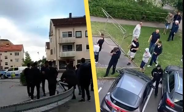 V dalším švédském městě došlo k bojům muslimských gangů, potyček se zúčastnilo asi 100 lidí