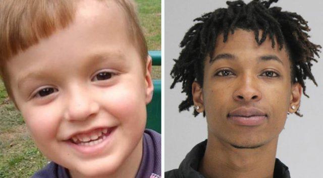 USA: Černoch unesl a brutálně zavraždil 4leté bílé dítě, únos natočila kamera (video)