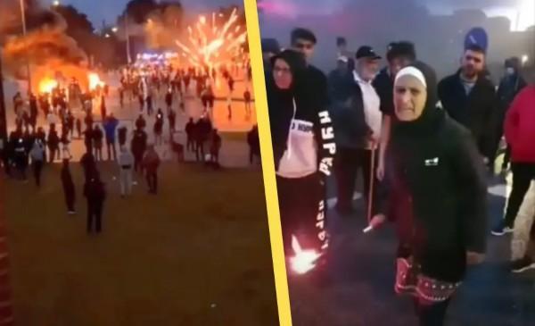 Vzteklá muslimka, která vedla loňské nepokoje v Malmö, byla dnes odsouzena (video)