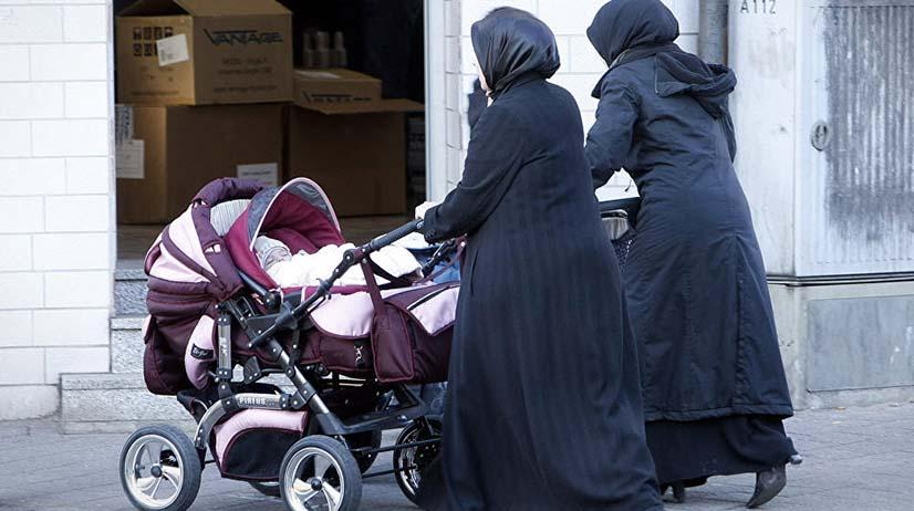 Německo zaznamenává masivní nárůst počtu novorozenců u žadatelů o azyl