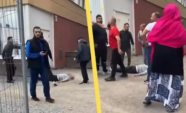 Další války zločinných muslimských gangů ve Švédsku, podívejte se, jak to vypadalo po vraždě člena jednoho gangu (video)