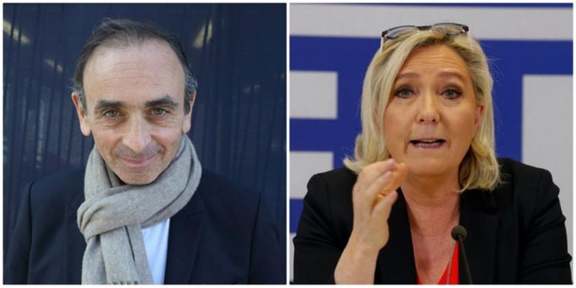 Francouzi žádají Zemmoura, aby kandidoval na prezidenta, neboť je ještě mnohem radikálnější, než Marine le Pen