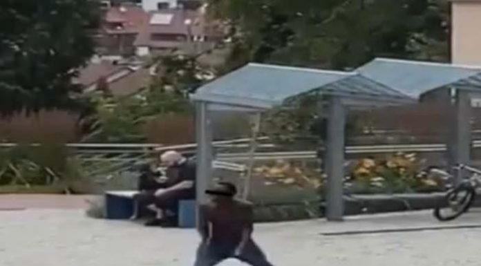 To není  Somálsko, to je Německo (video)
