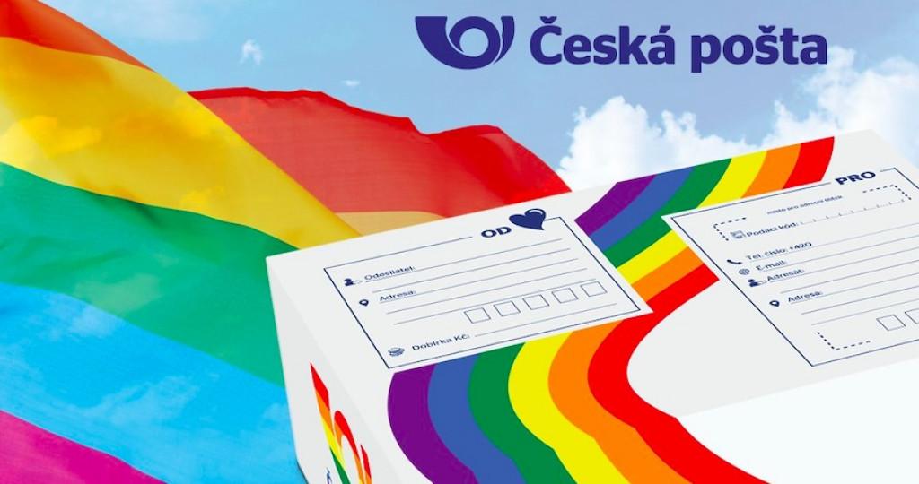 Česká – duhová – pošta se pustila do LGBTQ propagandy, platíte to i vy