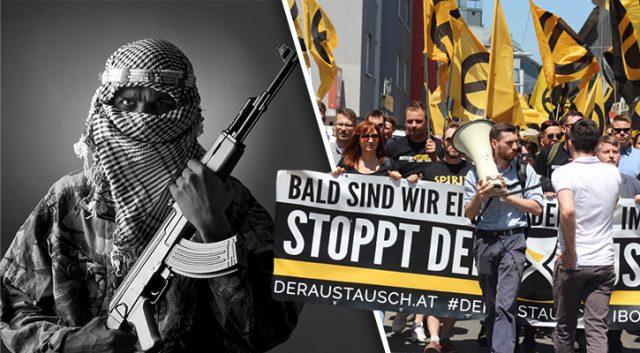Rakouská vláda dala novým zákonem na roveň islámské teroristy a vlastence