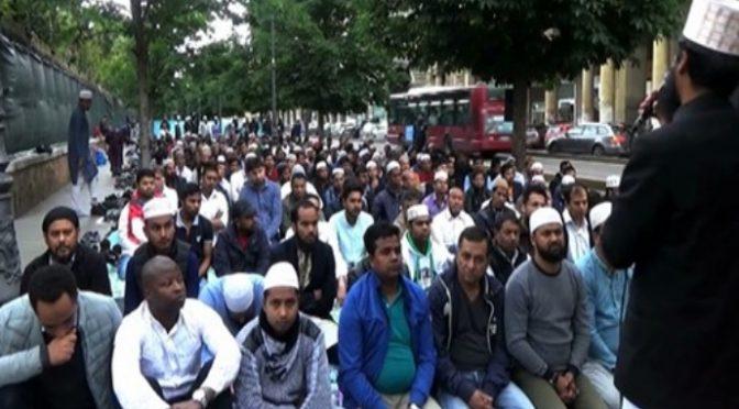 Centrum Říma dnes obsadili mohamedáni, vzývající Alláha (video)
