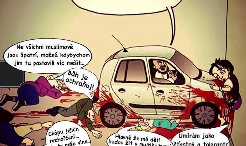 Maročan úmyslně najel autem do tří mladých Italů, jeden je v ohrožení života