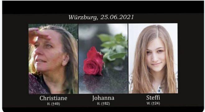 Německo odmítá zaplatit odškodné obětem útoku ve Würzburgu, chce zakázat i zveřejňování fotografií obětí