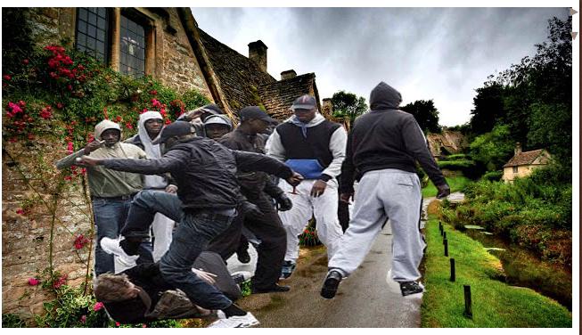 Multikulturní Irsko má značné problémy s agresivními černošskými gangy (video)