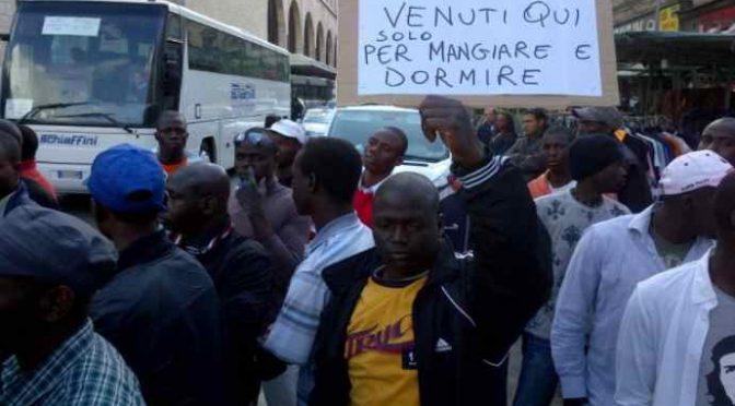 Invaze parazitů: 95% ilegálů přichází do Itálie jen proto, aby získali dávky