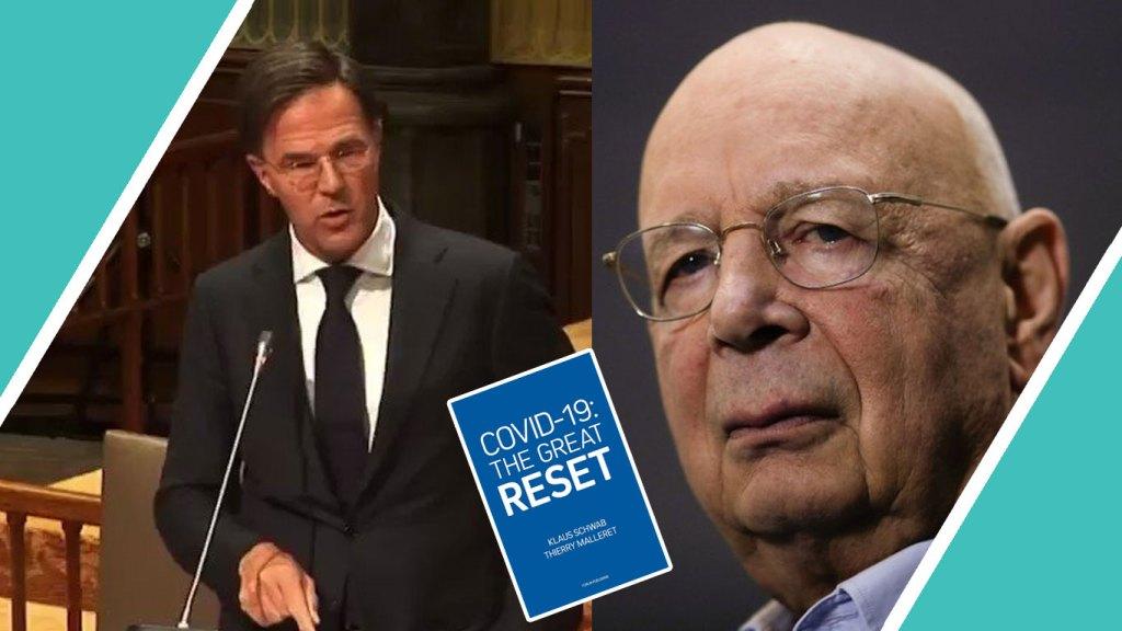 """Holandský poslanec odhalil zrůdné plány """"Velkého resetu"""", poukázal na spolupráci premiéra s Klausem Schwabem (video)"""