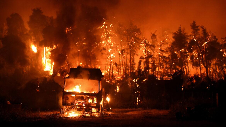I některé požáry v Řecku jsou součástí džihádu