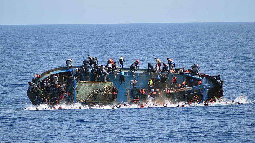 Na cestě do Itálie ztroskotalo 70 Egypťanů (video)