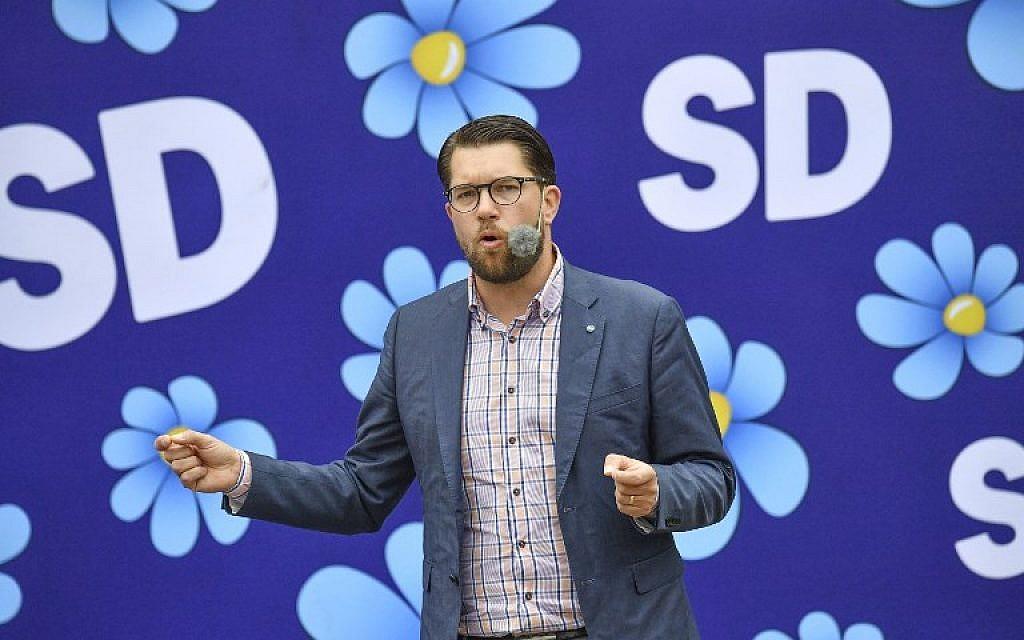Ve švédských průzkumech preferencí vede protimigrační strana, která je i proti EU, přijetí eura a islamizaci