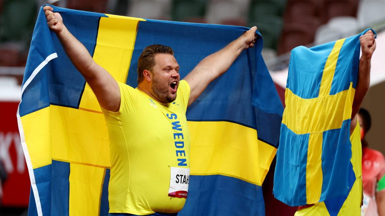 Švédská atletická federace odmítla potrestat olympijského vítěze za to, že prohlásil, že je Viking