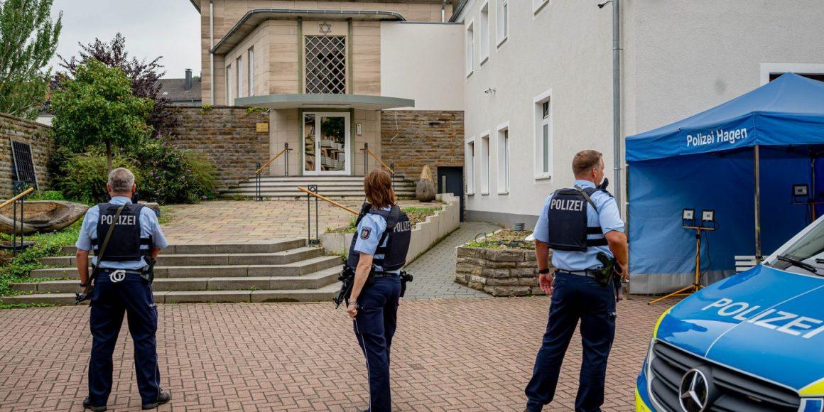 Muslimové plánovali útok na synagogu v německém Hagenu v momentě, kdy bude přeplněná
