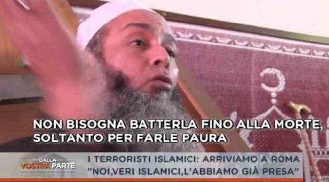 """Imámové jásají: """"Řím je již muslimský"""" –  je tam víc než 100 mešit (video)"""