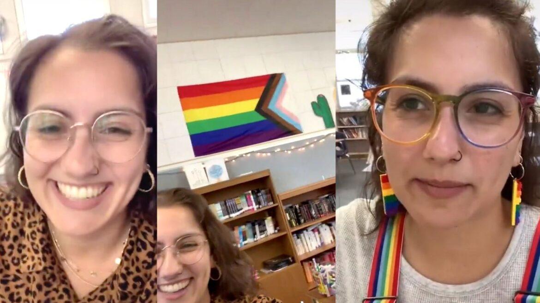 Americká učitelka chtěla, aby žáci slíbili věrnost vlajce LGBTQ namísto vlajky USA (video)