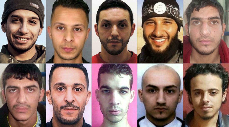 Jaké byly další cíle teroristů při největších útocích v poválečné historii Francie?
