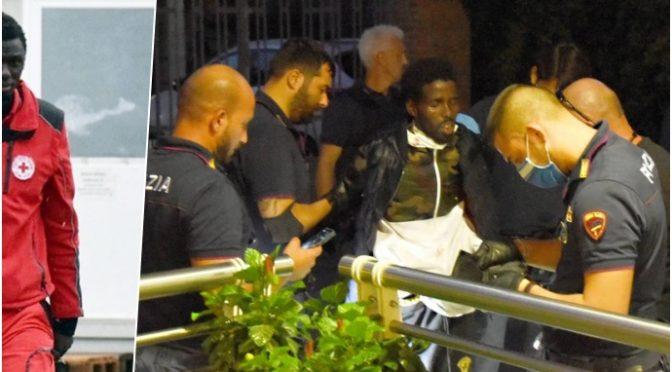 Útok v Itálii: Somálec pobodal 5 lidí, včetně dítěte, které bodl do krku