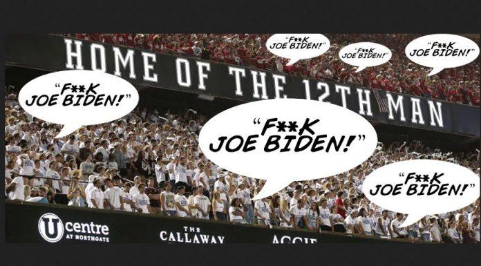 """Na různých stadionech po celých USA se nese skandování: """"Fuck Joe Biden!""""  (videa)"""