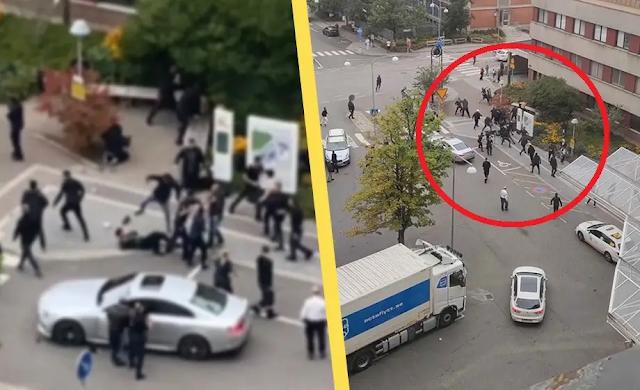 Jen ve Stockholmu je 52 muslimských zločineckých gangů, stále častěji jsou jejich členy děti