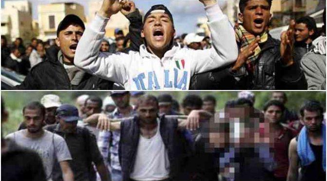 Invazní armáda: 85 tisíc džihádistů vtrhlo do Itálie a odešlo neznámo kam (video)