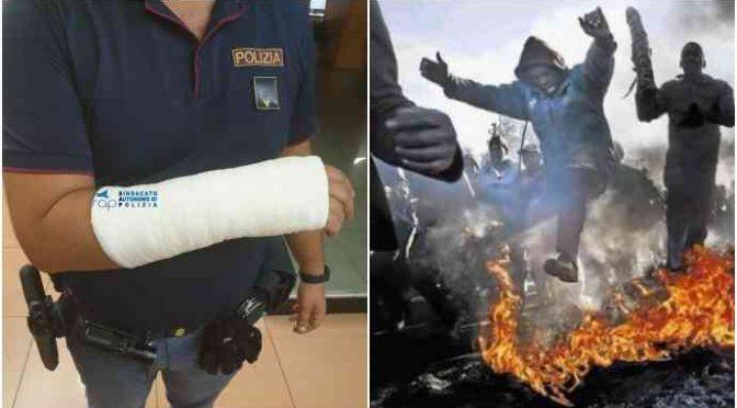 Itálie: Nigerijec napadl dva policisty, oběma zlomil ruku
