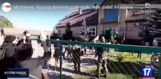 Polsko: Skupina Iráčanů, vedená aktivistkou z promigrační neziskovky, se snaží dostat z Běloruska do Polska (video)