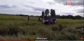 Podívejte se, jak jsou ilegálové převáděni z Běloruska do Litvy (video)