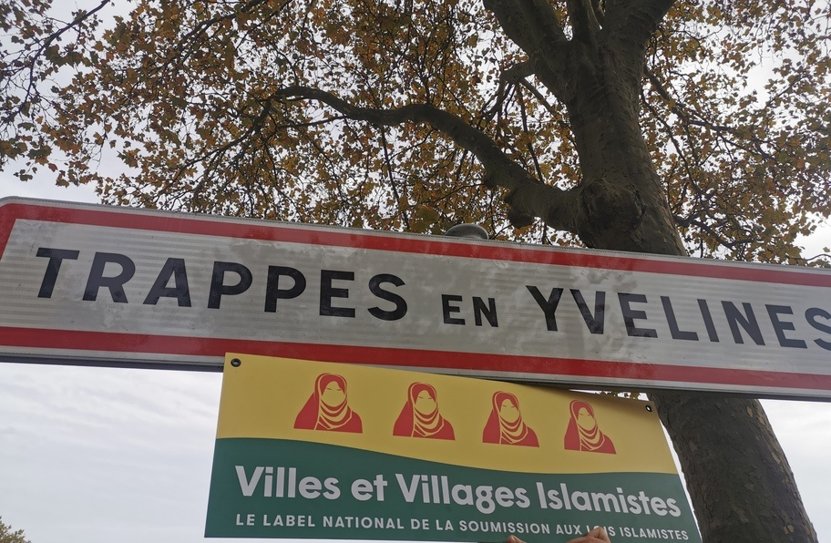 Centrála Islámského státu v Evropě – francouzské Trappes