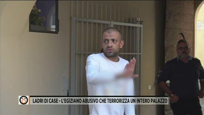 Další případy italských rodin, kterým invazisté obsadili byty a odmítají odejít (videa)