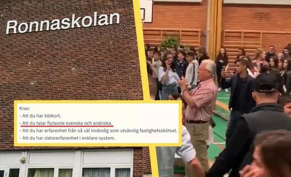 Švédská škola hledá školníka, podmínkou je výborná znalost arabštiny