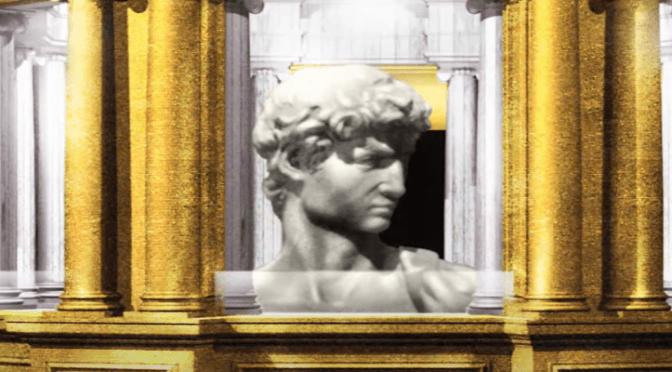 Socha Michelangelova Davida na výstavě Expo v Dubaji nesmí být vidět nahá