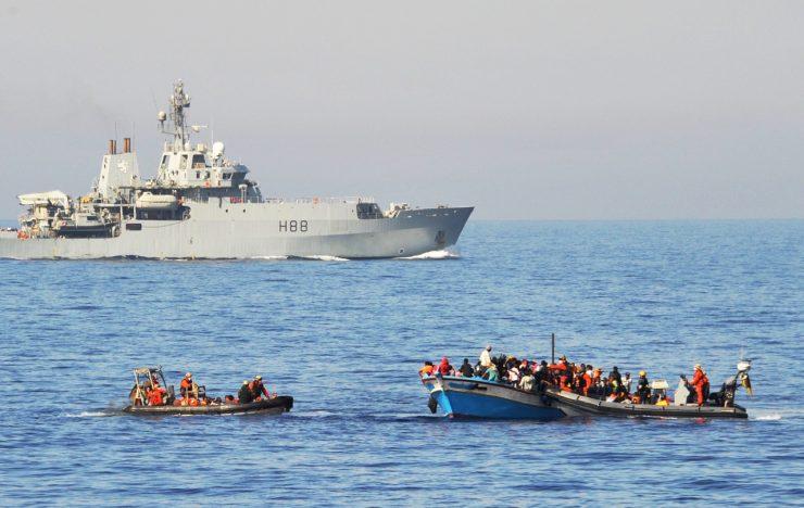 Za 48 hodin zadrželi v Lamanšském průlivu rekordních 1100 invazistů