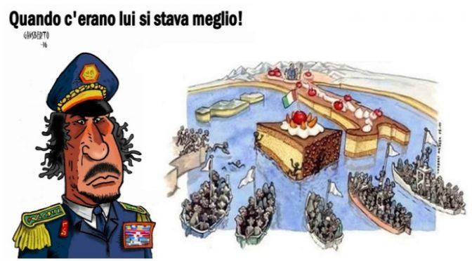 Před deseti lety byl zavražděn Kaddáfí, od té doby připlulo k italským břehům více než milion Afričanů